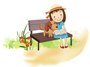 reading bench