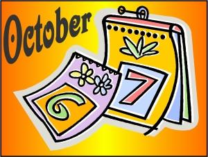 Calendar-October