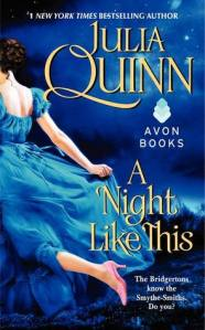 Cover: A Night Like This by Julia Quinn
